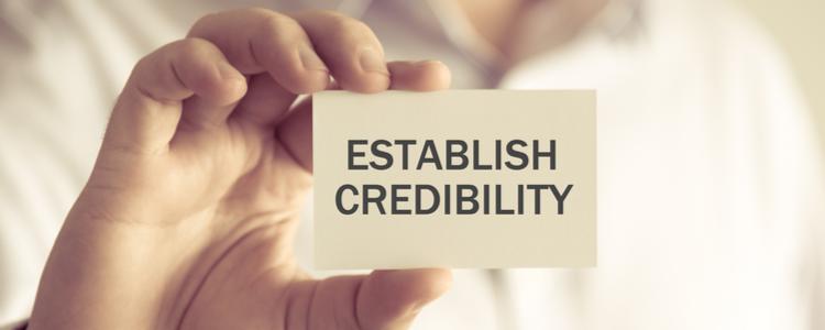 Video testimonials establish credibility